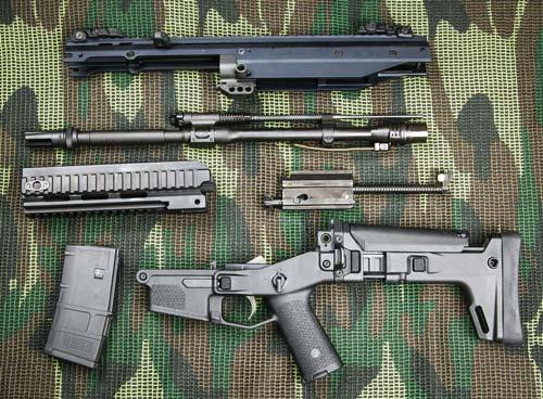 Гражданский вариант Bushmaster ACR Enhanced: неполная разборка